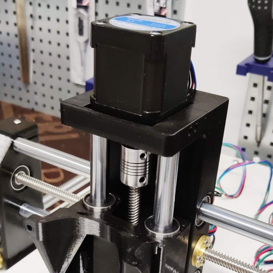 Dremel CNC Kulma Z-askelmoottori