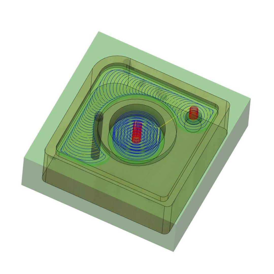 Fusion 360 Jyrsinsimulaatio